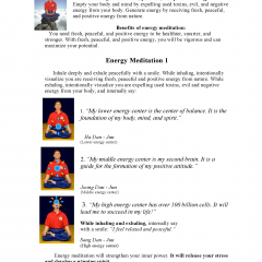 Energy Meditation